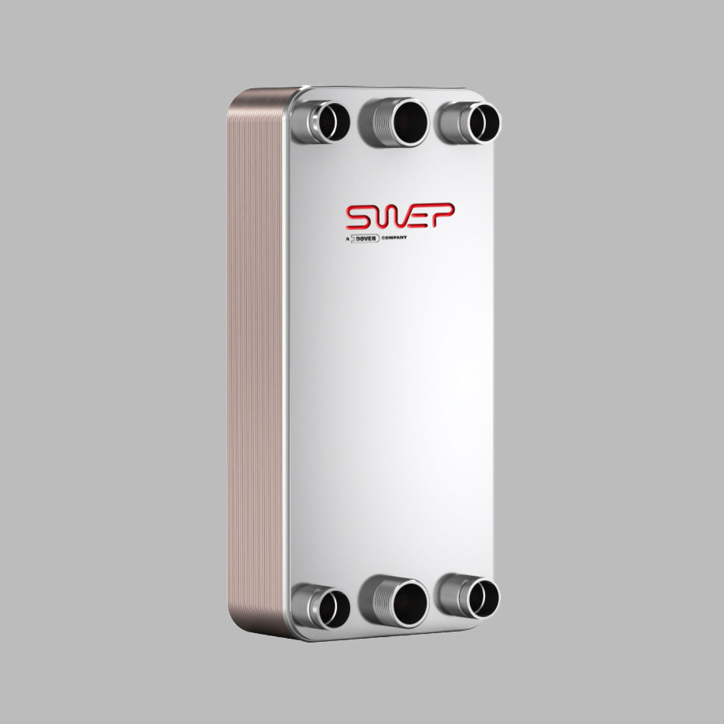 Паяные теплообменники SWEP типа DP