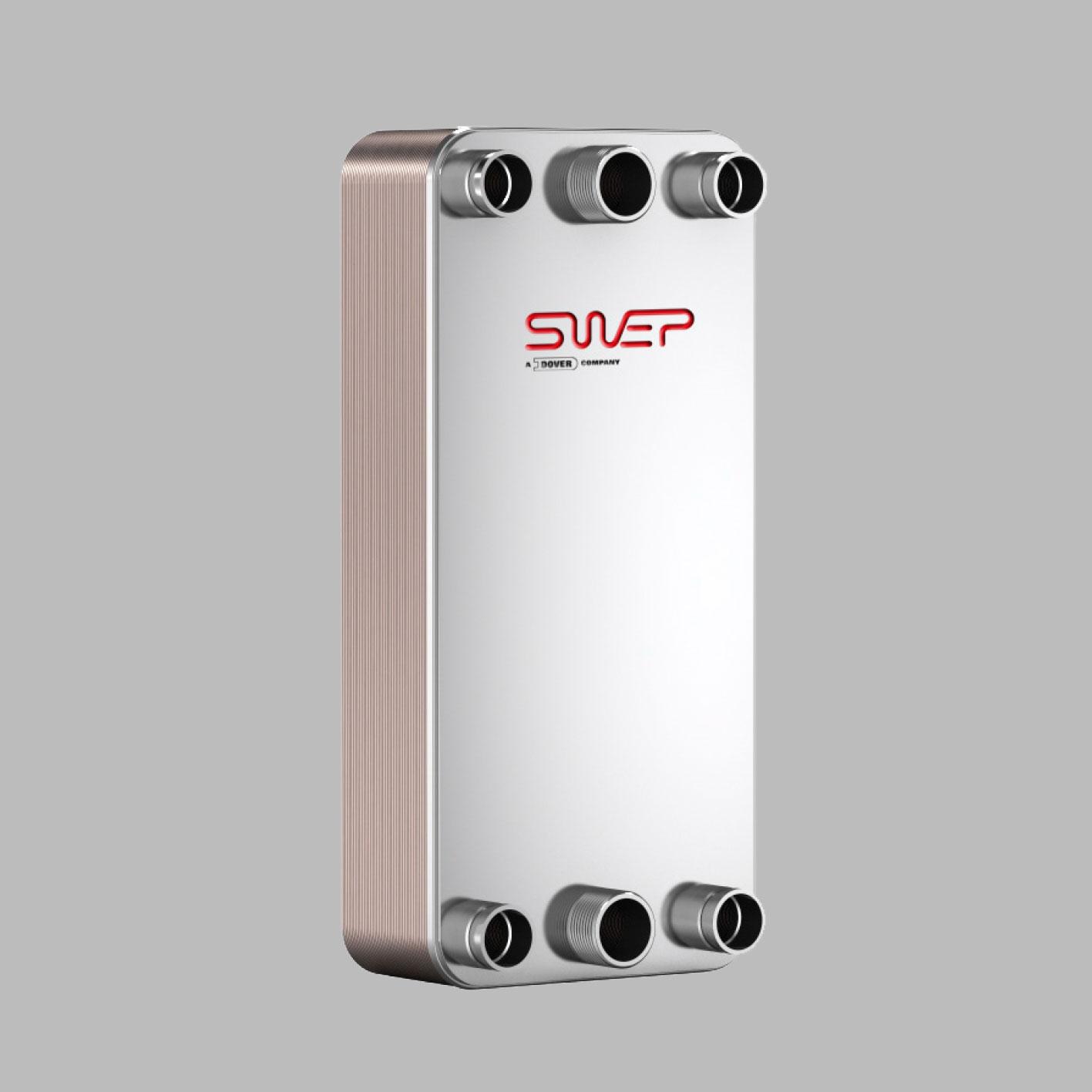 Паяные теплообменники SWEP типа DS