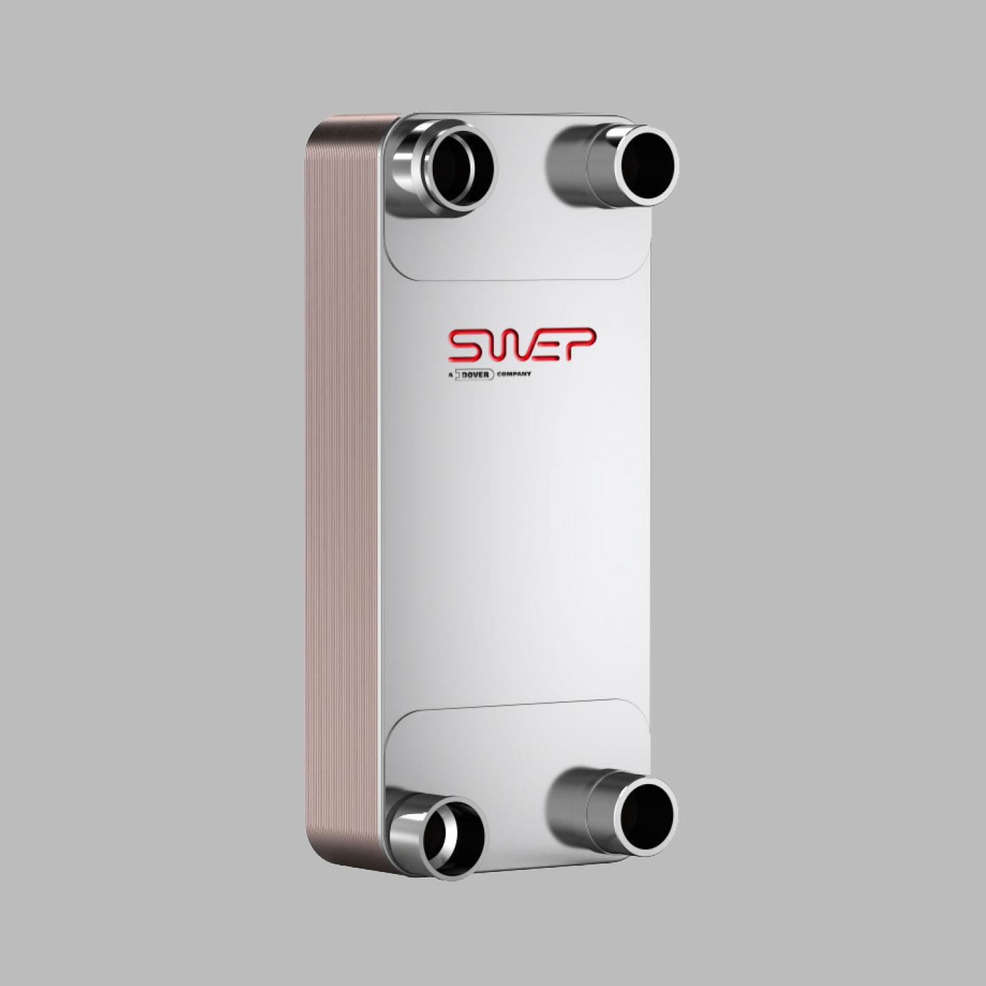 Паяные теплообменники SWEP типа S