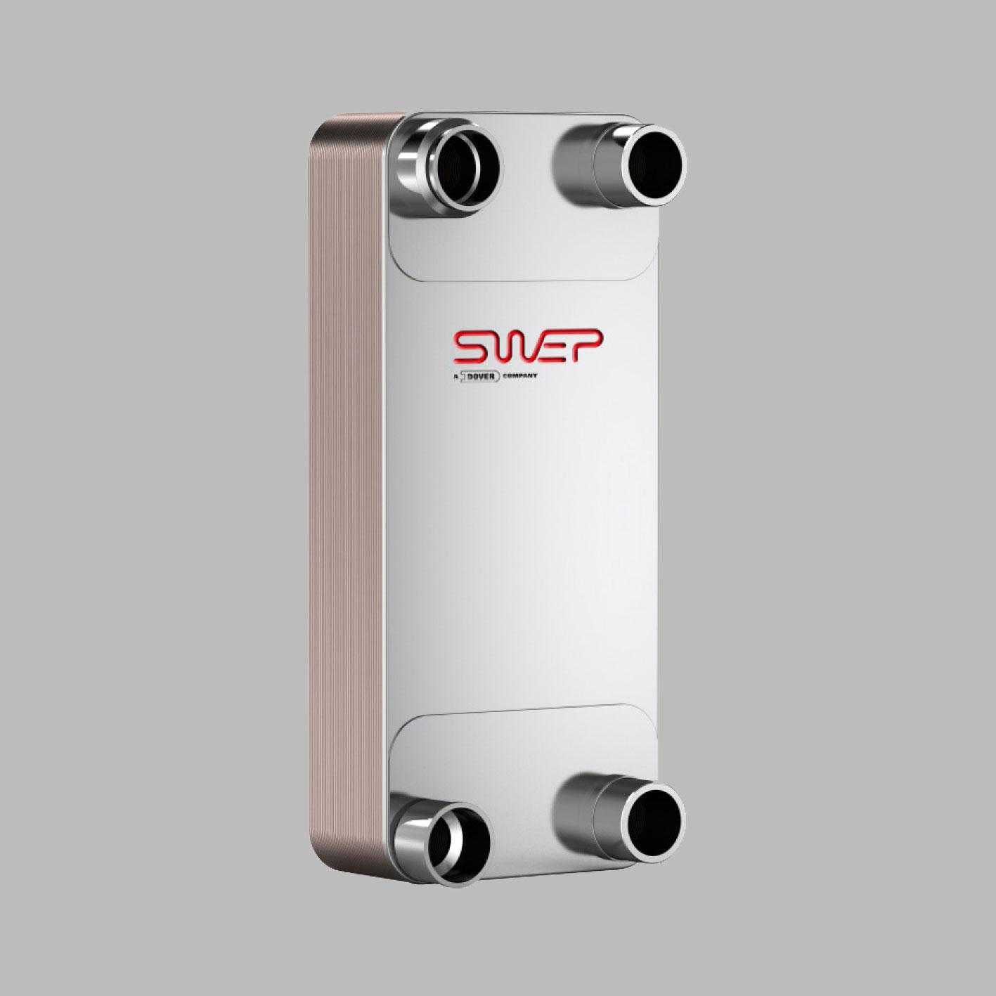 Паяные теплообменники SWEP типа VY