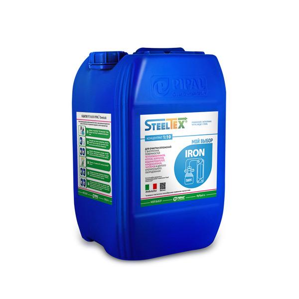 Реагенты для промывки отопительного оборудования Pipal STEELTEX