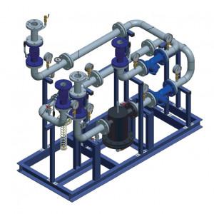 Блочный тепловой пункт (БТП) WaterLine (WL) Ридан - Блок узла ввода