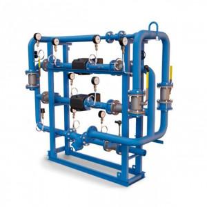 БТП Этра - Модуль отопления-вентиляции с зависимым присоединением с насосом смешения