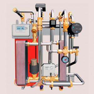 Cetetherm Mini ECO модульный тепловой пункт Альфа Лаваль