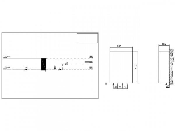Данфосс тепловой пункт Termix One тип 1, Danfoss