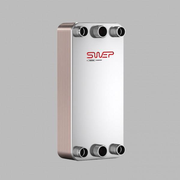 Паяный пластинчатый теплообменник SWEP DB200