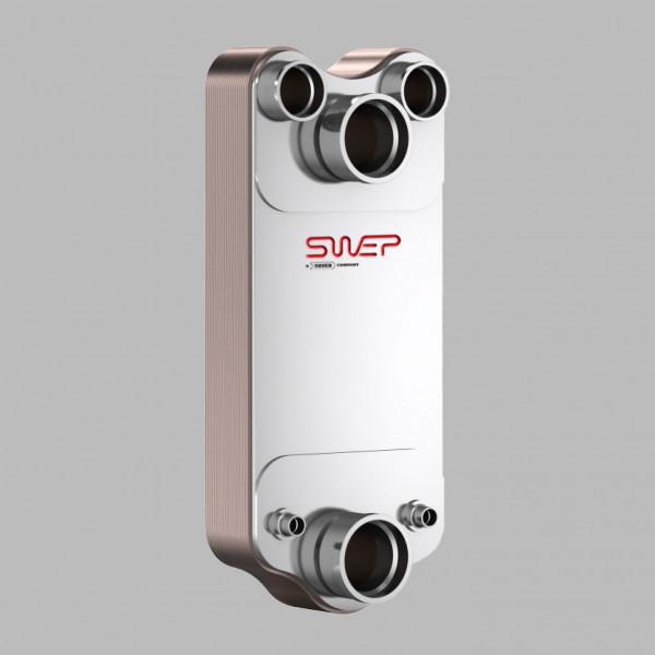 Паяный пластинчатый теплообменник SWEP DV700