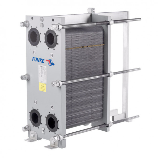 Разборный пластинчатый теплообменник Funke FP14