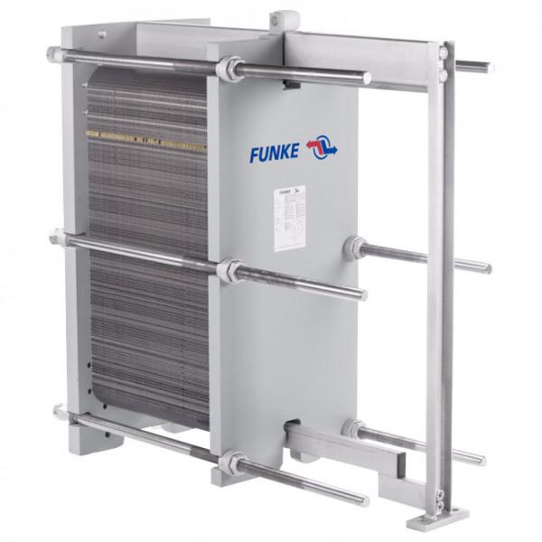Разборный пластинчатый теплообменник Funke FP40
